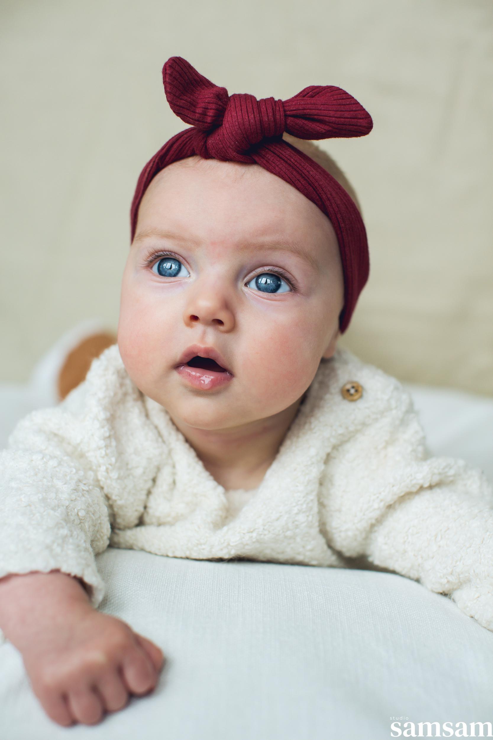Studio samsam newbornshoot newborn Nine 2