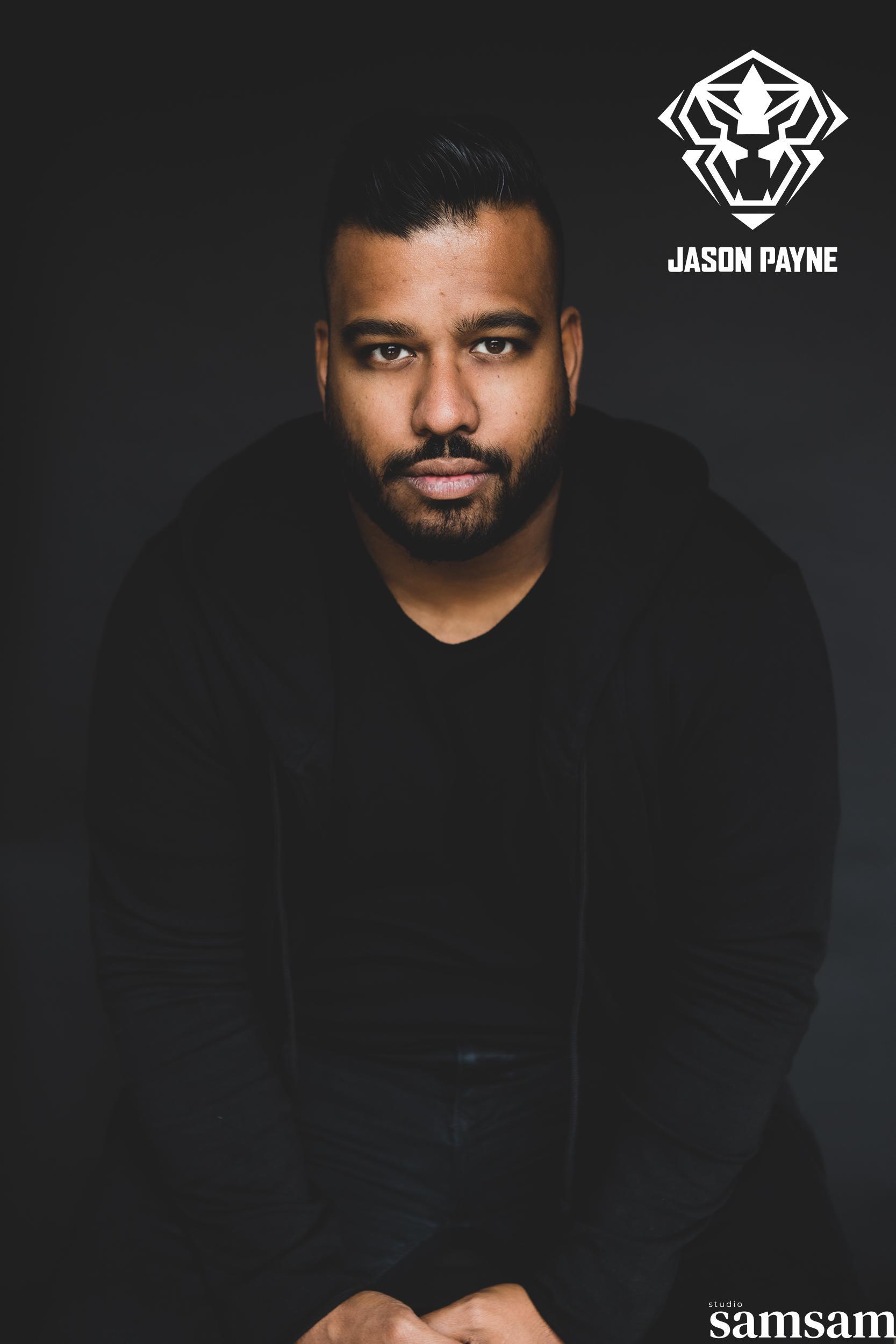 Jason Payne Sanjay portret studio samsam 1